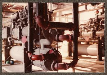 R.R. Donnelley &amp Sons, Harrisonburg, VA Chiller Plant. Engineered by Jim McNally, P.E.